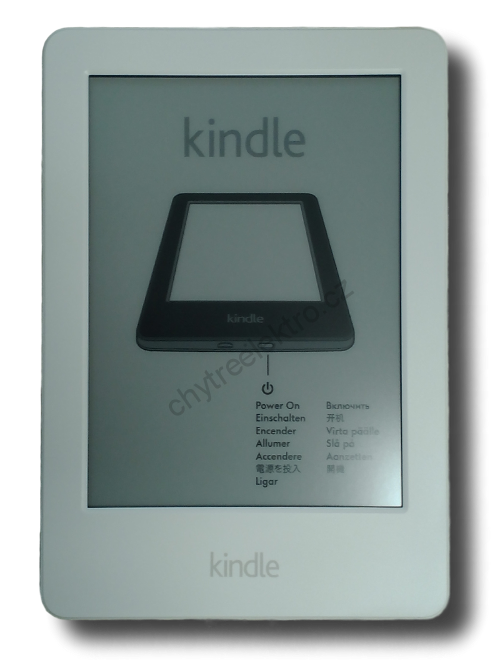 Amazon Kindle 8 Touch WiFi, bílý, bez reklam