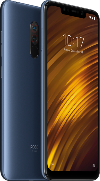 Xiaomi Pocophone F1, 6GB/128GB, Global, Steel blue + DÁRKY