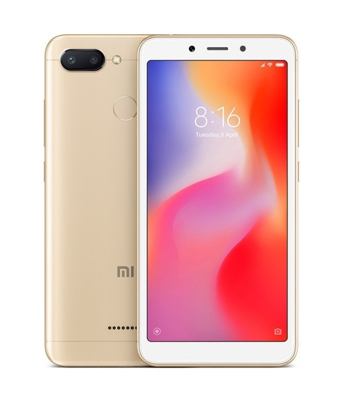 Xiaomi Redmi 6 Global 3GB/64GB Gold + DÁREK
