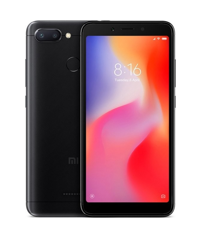 Xiaomi Redmi 6 Global 4GB/64GB Black + DÁREK