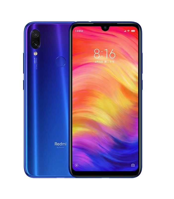 Xiaomi Redmi Note 7 Global  4GB/128GB Blue + DÁRKY