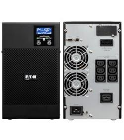 EATON UPS 9E 3000VA XL bez int. baterií, On-line, Tower, 3000VA/2400W, výstup 6/1x IEC C13/19, USB, displej, sinus