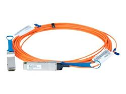 Mellanox active fiber cable, VPI, up to 56Gb/s, QSFP, 30m