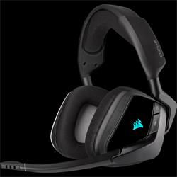 Corsair herní sluchátka VOID RGB ELITE Wireless Premium with 7.1 Surround Sound, Carbon (EU)