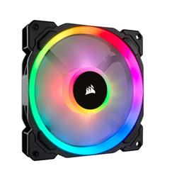 Corsair ventilátor  LL Series, LL140 RGB, 140mm Dual Light Loop RGB LED PWM Fan, Single Pack