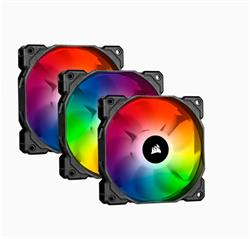 Corsair ventilátor SP120 RGB PRO, RGB LED, Tripple pack, Lighting Node Core, 120mm, 26dBA