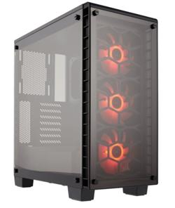 Corsair PC skříň Crystal Series 460X RGB Compact ATX Mid-Tower
