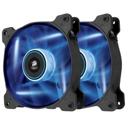Corsair ventilátor Air Series AF120 LED Blue Quiet Edition, 2x 120mm, 25dBA, Twin pack