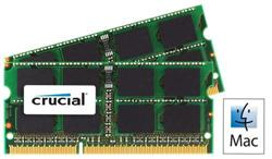 Crucial DDR3 8GB (Kit 2x4GB) SODIMM 1066MHz CL7 pro Mac