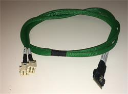 Broadcom LSI internal U.3 cable 1.0 m SlimLine x8 (SFF-8654) to 2x Mini-SAS HD (SFF-8643) white (for NVMe) SMC
