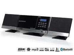 TOPCOM AudioSonic HF-1265 Stereo Hi-Fi set, 2 x 10 Watt, CD/MP3, BT, FM PLL, USB, SD slot