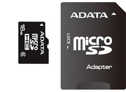 ADATA 32GB Micro SD SDHC class 10 with USB Card Reader V3 Black