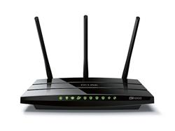TP-Link Archer AC1200 Dual Band Wireless Gigabit Router, Broadcom, 867Mbps at 5GHz + 300Mbps at 2.4GHz, 802.11ac/a/b/g/n