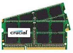 Crucial DDR3 4GB (Kit 2x2GB) SODIMM 1333MHz CL9 pro Mac