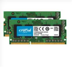 Crucial DDR3 8GB (Kit 2x4GB) SODIMM 1600MHz CL11 pro Mac