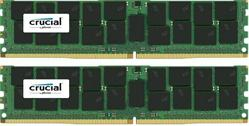 Crucial DDR4 128GB (Kit 2x64GB) DIMM 2666MHz CL19 ECC Load Reduced QR x4