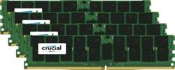 Crucial DDR4 128GB (Kit 4x32GB) DIMM 2400MHz CL17 ECC Load Reduced DR x4 (min. obj 10ks)