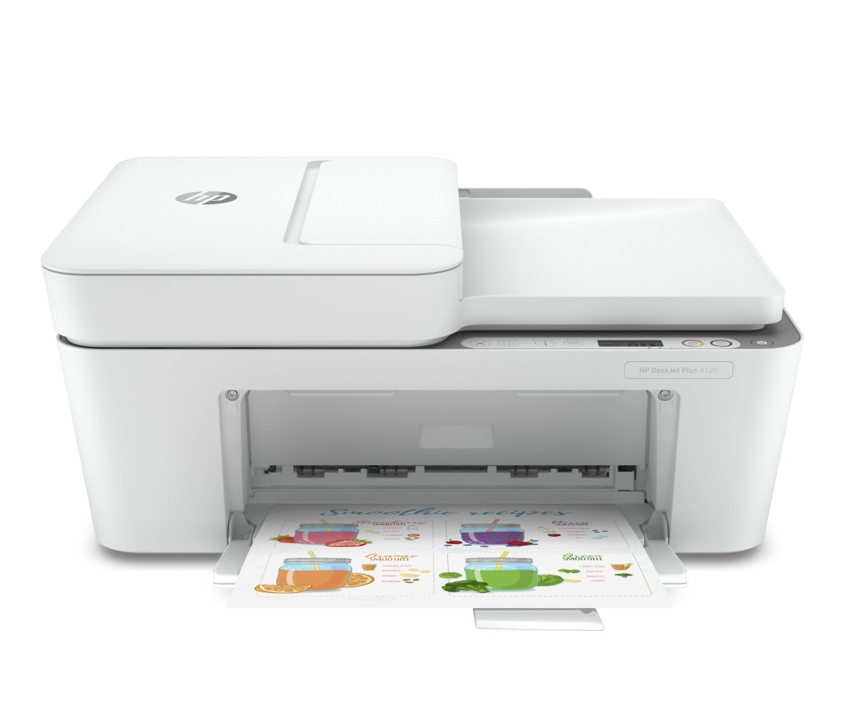 HP All-in-One Deskjet Plus 4120 (A4, 8,5/6ppm, USB, Wi-Fi, Print, Scan, Copy, ADF)