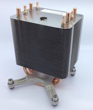 INTEL Passive heat sinks, 92 mm x 100 mm (S2600CW in P4000 chassis)