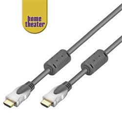 Home Theater HQ ATC certified High Speed HDMI® cable with Ethernet, zlacené konektory+ferrity 15m