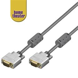 Home Theater; HQ kabel VGA/SVGA MD15HD-MD15HD s ferrity, 5m