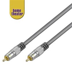 Home Theater Propojovací HQ 1x CINCH RCA - 1x CINCH RCA kabel 5m M/M