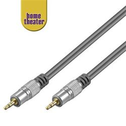 Home Theater HQ Kabel Jack 3,5mm - Jack 3,5mm stereo, M/M, 2,5m