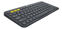 Logitech® Bluetooth Keyboard K380 Multi-Device - INTNL - US International Layout - DARK GREY