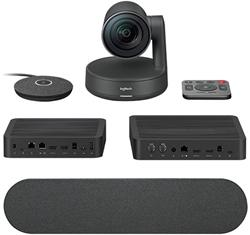 Logitech Rally Ultra-HD ConferenceCam, 1 mic, 1 repro - BLACK - EMEA