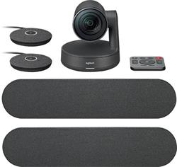 Logitech Rally Ultra-HD ConferenceCam, 2 mic, 2 repro - BLACK - EMEA