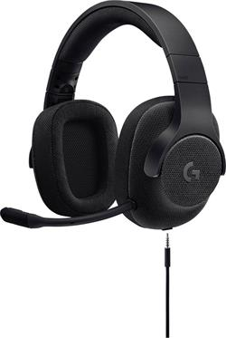 Logitech® G433 7.1 Surround Gaming Headset - TRIPLE BLACK - EMEA