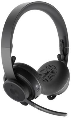 LOGITECH Zone Wireless Teams Bluetooth headset - GRAPHITE - BT - EMEA