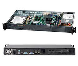 "SUPERMICRO mini1U chassis, 1x 3,5"" fixed HDD (nebo s MCP-220-00044-0N 2x2,5""), 200W (80PLUS), Single CPU max 35W"