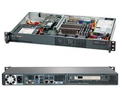 "SUPERMICRO mini1U chassis, 1x 3,5""  Internal Bay, 200W (80 Plus - Gold)"
