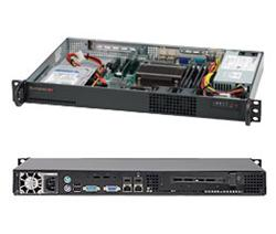"SUPERMICRO mini1U chassis, 1x 3,5"" fixed HDD (nebo s MCP-220-00044-0N 2x2,5""), 200W, Single CPU Xeon 34xx (max 45W)"