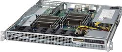 "SUPERMICRO mini1U chassis, 1x 3,5"" fixed HDD (nebo s MCP-220-00044-0N 2x2,5""), 440/480W (Platinum)"