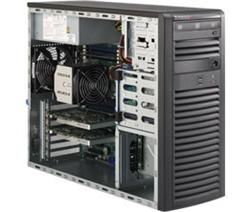 "SUPERMICRO Mid-Tower 4x 3,5"" fixed HDD, 2x 5,25"", 1x external 3,5"" 2x USB 3.0 (front), 900W (80PLUS Gold)"