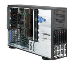 "SUPERMICRO Tower/4U 5x 3,5""HS SAS/SATA, 3x 5,25"",2x1400W (80PLUS Gold)"