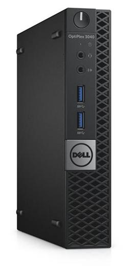Dell Optiplex 3046 MFF i3-6100T 4GB 128GB SSD WLAN+BT Win10P(64bit) 3y NBD