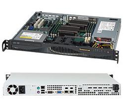 "SUPERMICRO mini1U chassis, 2x 3,5"" fixed HDD (nebo s MCP-220-00044-0N 2x2,5""), mechanika volitelná (slim), 350W (80PLUS"