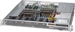 "SUPERMICRO mini1U chassis 2x internal Drive Bays 2,5"", 2x400W (Platinum)"