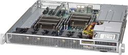 "SUPERMICRO mini1U chassis 2x internal Drive Bays 2,5"", 2x400W (Platinum) (WIO)"