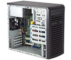 "SUPERMICRO Mini-Tower 4x 3,5"" fixed HDD, 2x 5,25"", 1x external 3,5"", 300W (80PLUS Bronze), pro uATX"