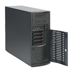 "SUPERMICRO Mid-Tower 4x 3,5"" HS SAS/SATA, 2x 5,25"", 500W"