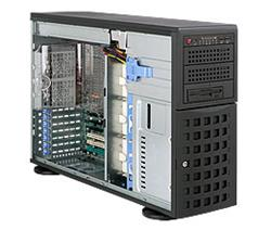 "SUPERMICRO Tower/4U 8x 3,5"" HS SAS/SATA, 2x 5,25"", 1x 5,25"" pro 3,5"", 920W (80PLUS Platinum)"