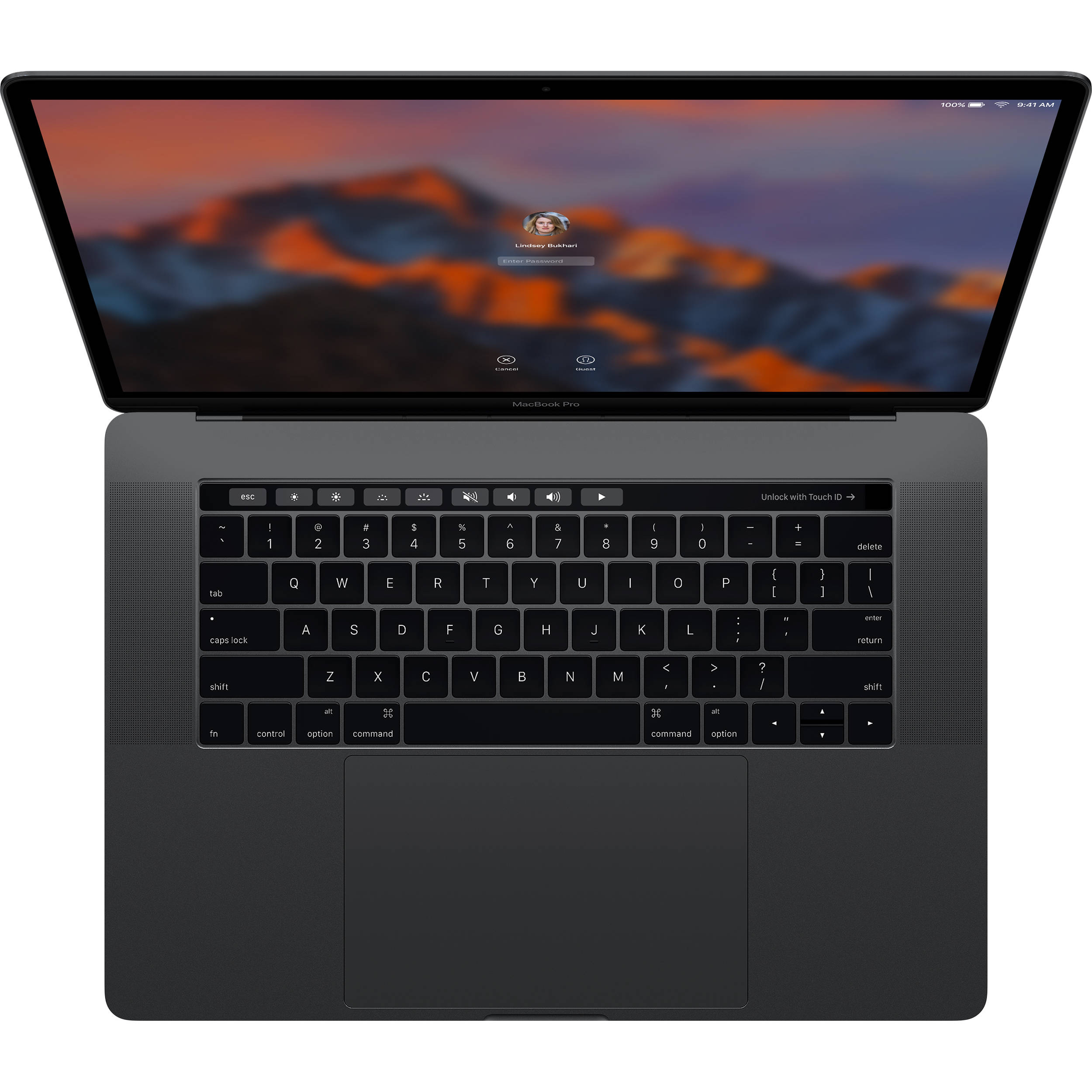 MPTR2SL/A MacBook Pro 15'' i7 2.8GHz/16G/256/TB/SK/Sp Gray