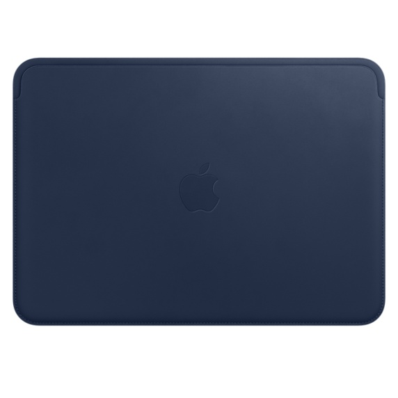 MQG02ZM/A Leather Sleeve pro MacBook 12 - Midnight Blue