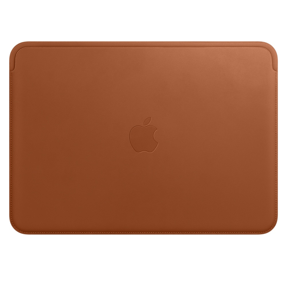 MQG12ZM/A Leather Sleeve pro MacBook 12 - Saddle Brown