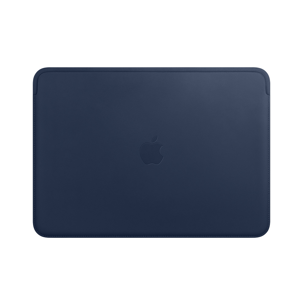 MRQL2ZM/A Leather Sleeve pro MacBook Pro 13 - Midnight Blue