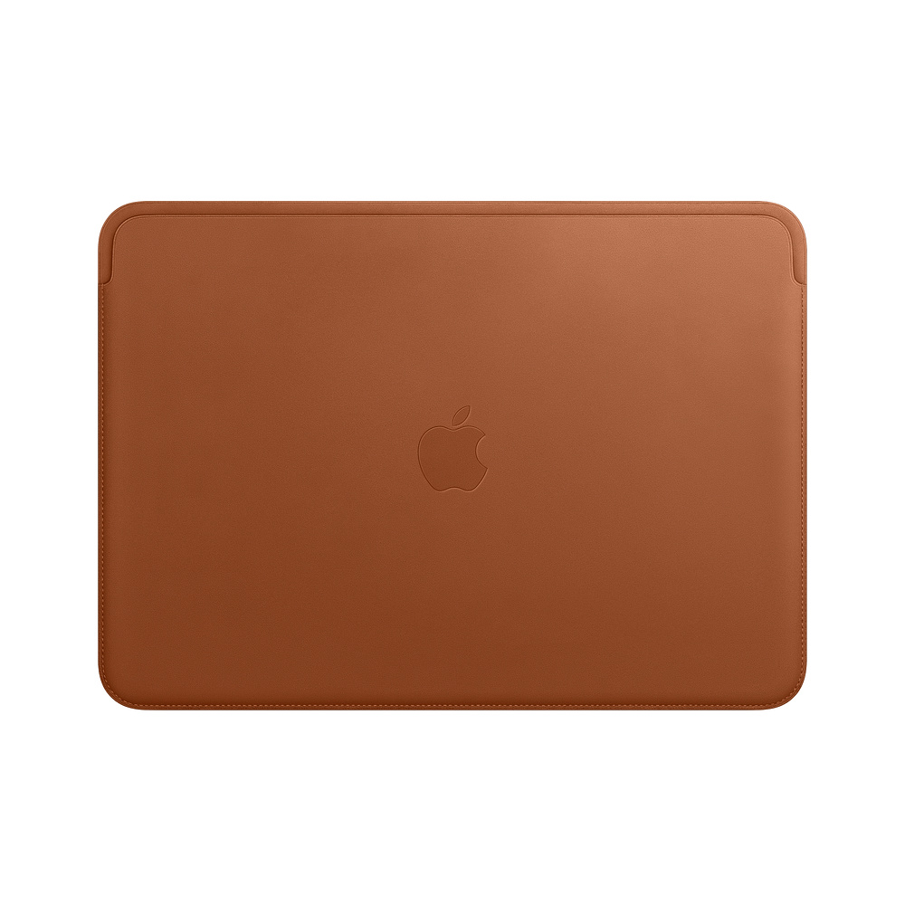 MRQM2ZM/A Leather Sleeve pro MacBook Pro 13 - Saddle Brown